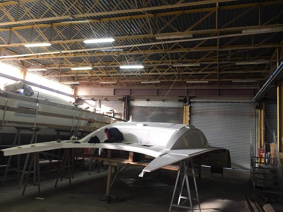 construction du C-Cat 37 C-Catamarans construction des catamarans sur mesure