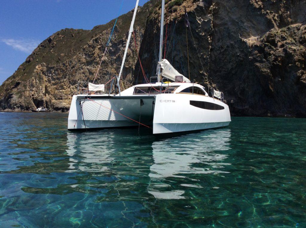 ccat 37 catamaran croisière catamaran c-cat 37