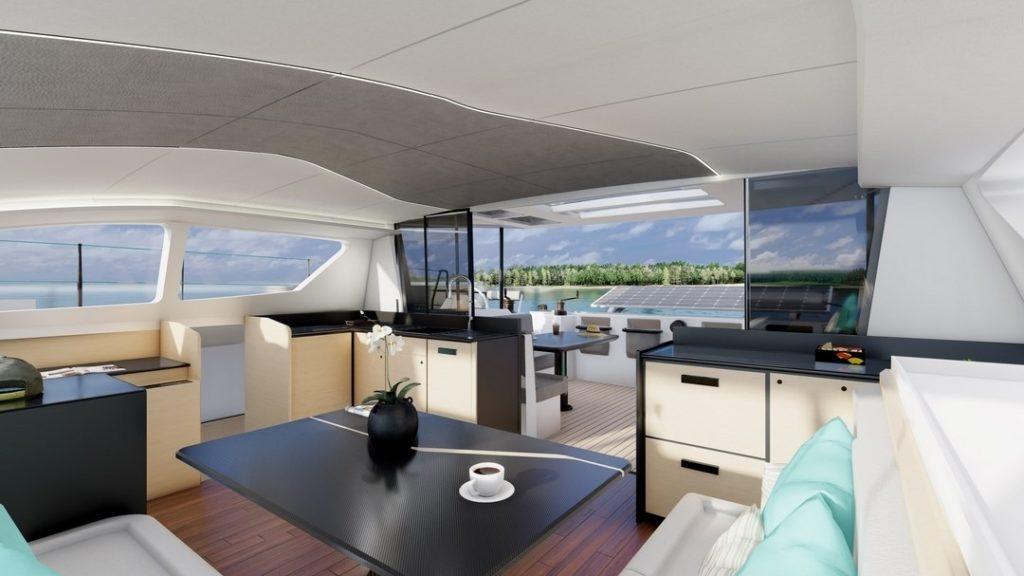 catamaran habitable C-CAT-48-le-nouveau-design-interieur C-Catamarans