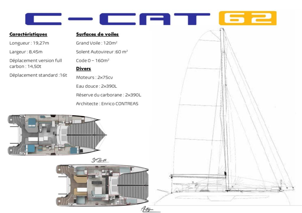 Catamaran sur mesure C-Cat 62 C-Catamarans