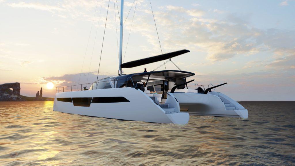 catamaran 62 pieds avec un design  personnalisable C-Catamaran