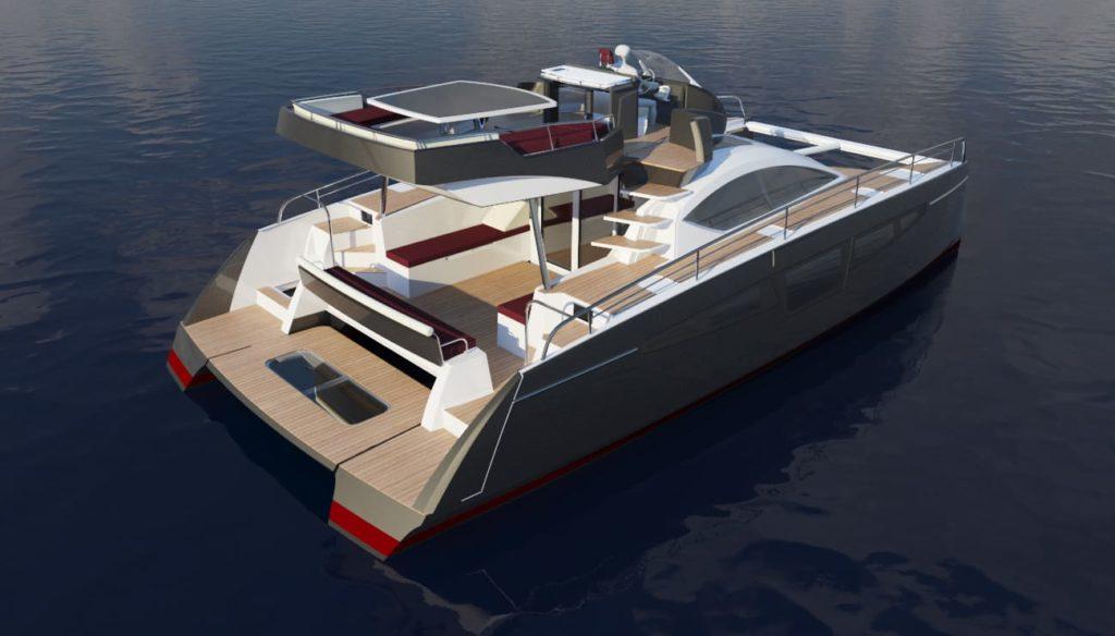 c-cat 38catamaran à moteur personnalisable de c-catamarans france