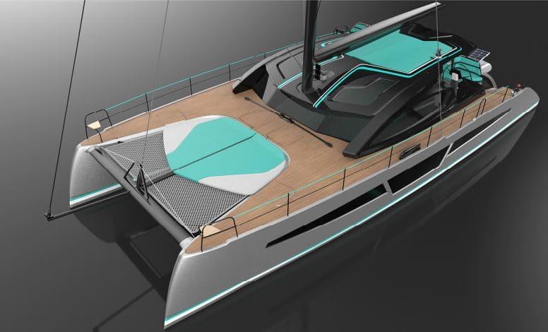 C-CAT 56 catamaran avec design personnalisable 56 pieds