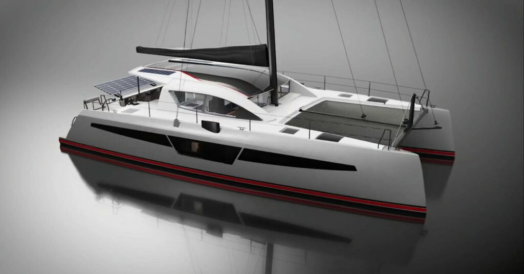 c-cat 48 c-catamarans design extérieur