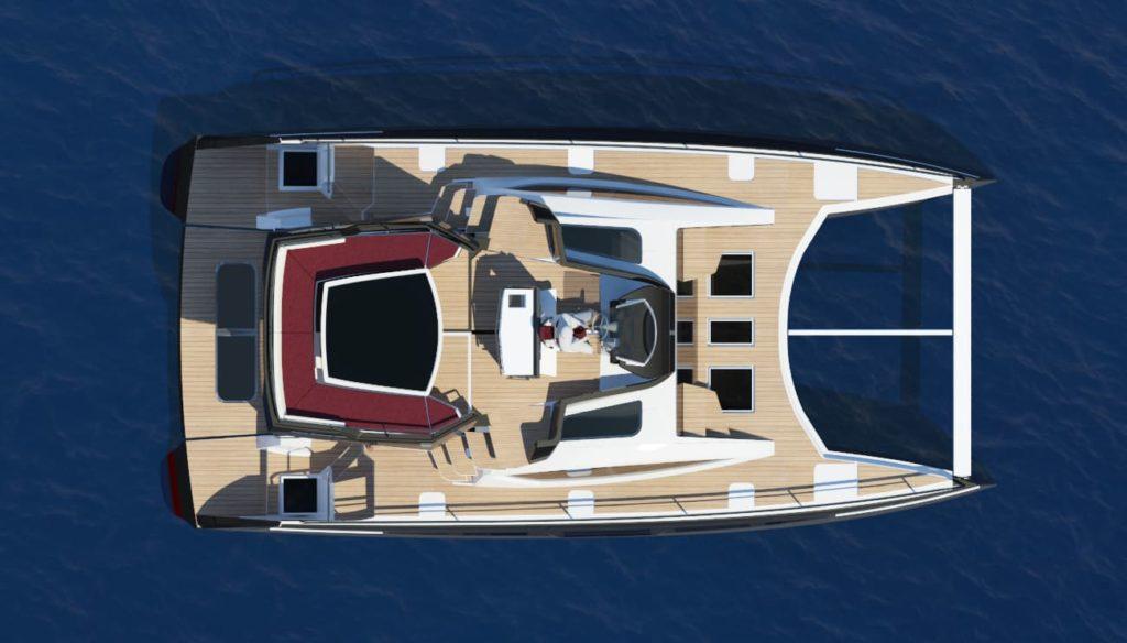 c-cat 38 c-catamarans à moteur c-cat38 POWERCAT Personnalisable