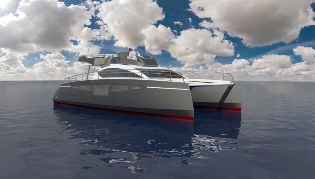 c-cat 38 powercat c-catamarans à moteur personnalisable