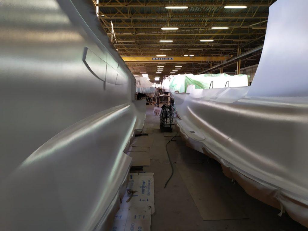 construction du C-CAT 37 le nouveau c-catamarans