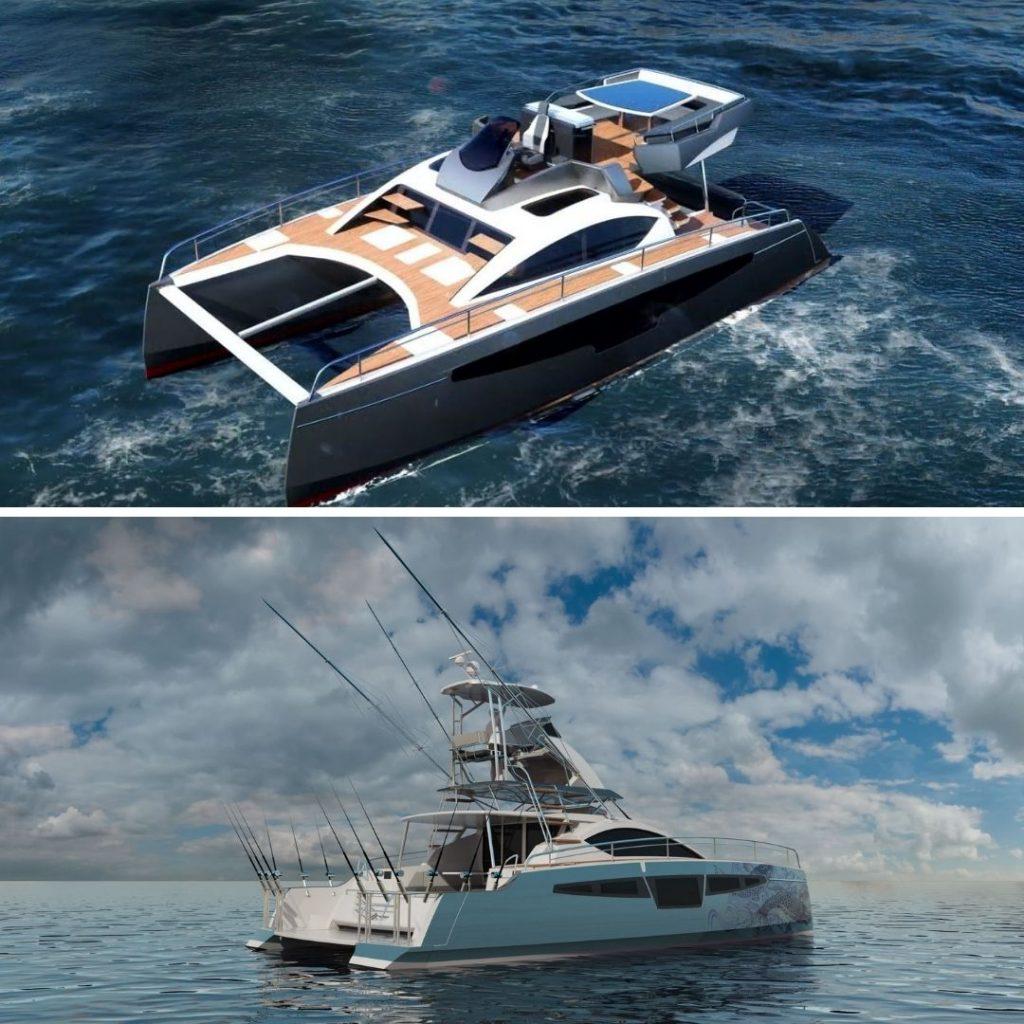 catamaran neuf à moteur c-catamarans france