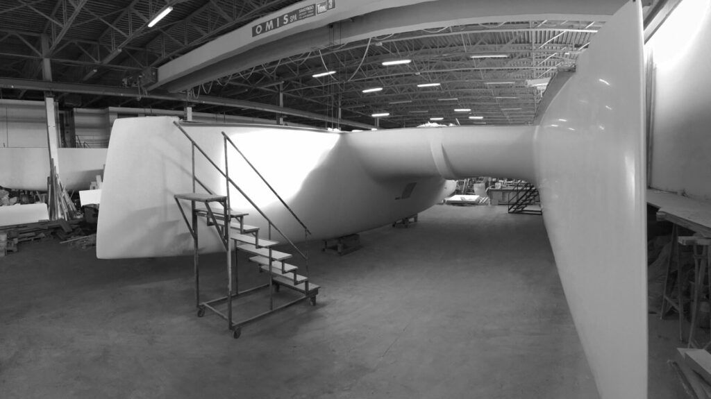 construction du catamaran c-cat 48