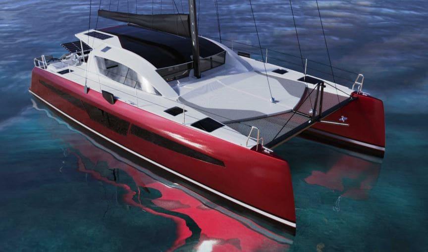 catamaran à dérives neuf & habitable