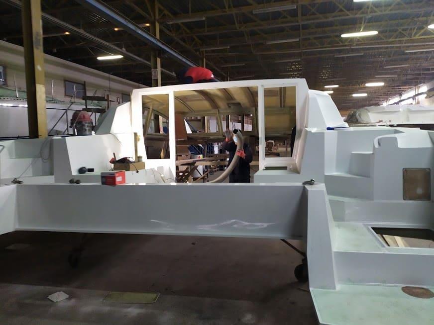 construction voilier c-cat 37
