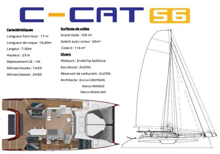 catamaran c-cat 56